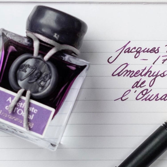 Amethyst Jacques Herbin 1798 Fountain Pen Ink