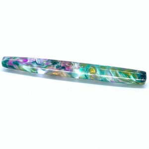 Clear Water Lily Churchill Fountain Pen,
