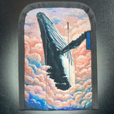 Whale in the Clouds Pen Coozy