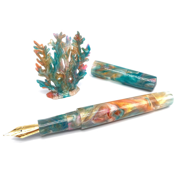 Coral Reef Custom Fountain Pen