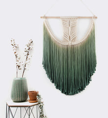 Macrame Wall Hanging Tapestry Hand Woven Pendant