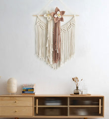 Bohemian Hand Woven Cotton Rope Tapestry
