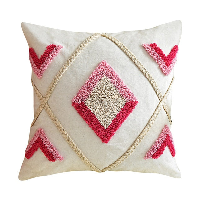 Pink Diamonds - Cushion Cover