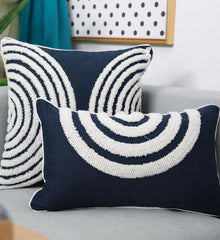 Navy - Cushion Cover