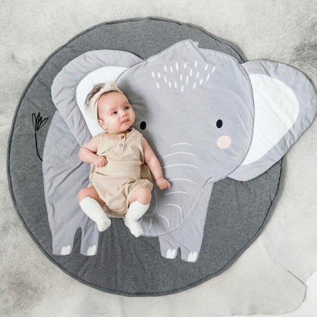 Nordic Baby Play Mat Cotton Rug for Kids Room Nursery Decor
