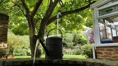 """NEW"" Overflowing Antique Watering Can - LIMITED EDITION"