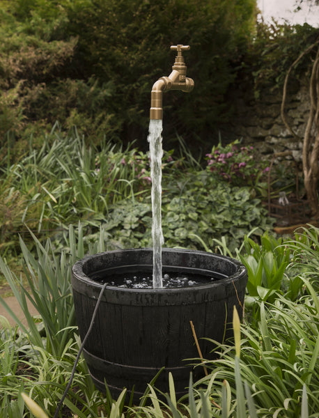 22mm Floating Tap Water Feature Including Pump The