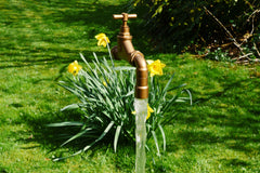 22mm Sunken Floating Tap Water Feature
