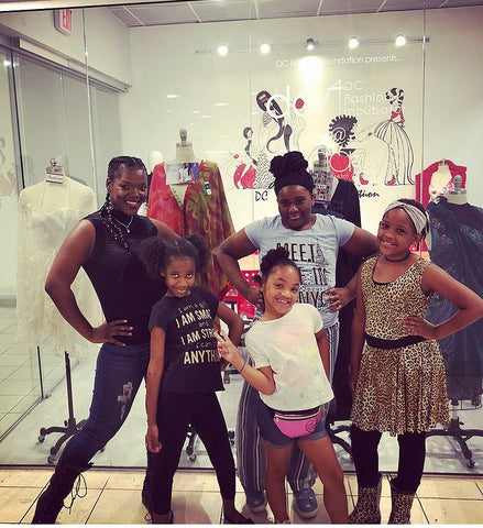 Sheridonna Donates time to underprivileged Fashion Designs students at Macy's