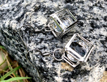 "Load image into Gallery viewer, Sheridonna Designs: "" Rock Star"" 1 Tier Silver Glass Earring"