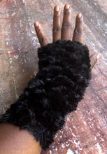 "Load image into Gallery viewer, Sheridonna Designs: ""Snow White Fingerless Gloves"""