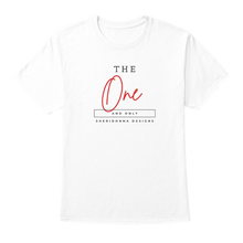 "Load image into Gallery viewer, Sheridonna Designs ""D3 'The One And Only"" Classic Tee"