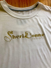 Load image into Gallery viewer, SHERIDONNA DESIGNS : SPECIAL BLEND WHITE T-SHIRT