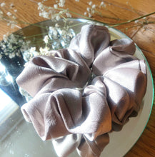 Load image into Gallery viewer, Sheridonna Designs: Premium Ivory Handcrafted Satin Scrunchie