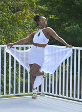 Load image into Gallery viewer, Sheridonna Designs: Exclusive Custom Sustainable 2 Piece Skirt Set With Waist Attachment