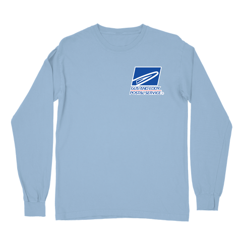Postal Service Long Sleeve - Blue
