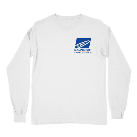 Postal Service Long Sleeve - White