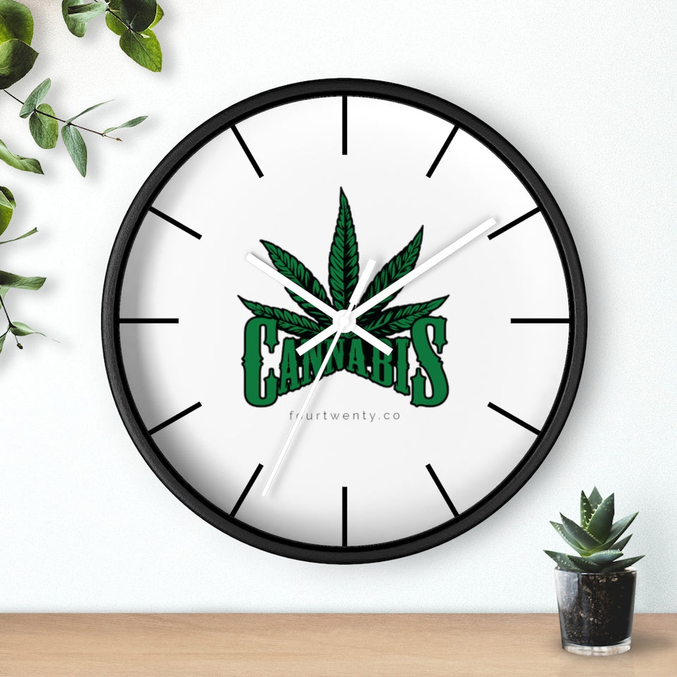 Cannabis Wall clock