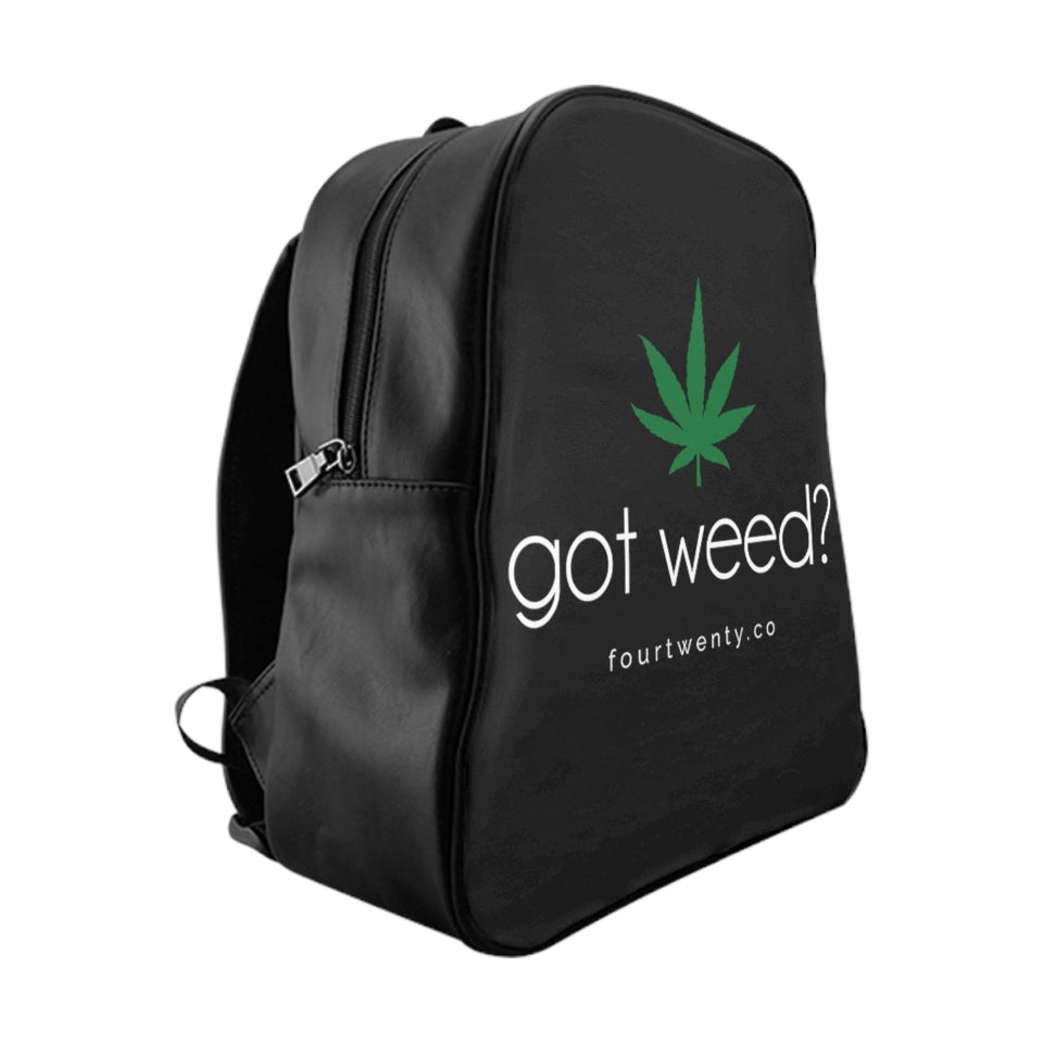 Got Weed Black Backpack