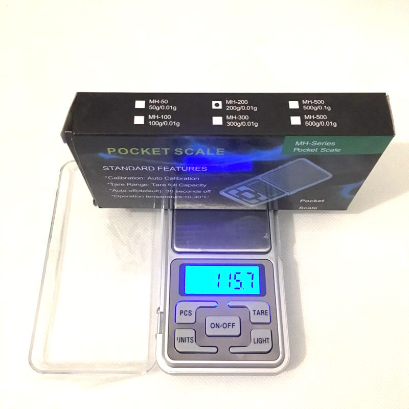 Pocket Scale  Hookah Shisha Chicha Water Pipe