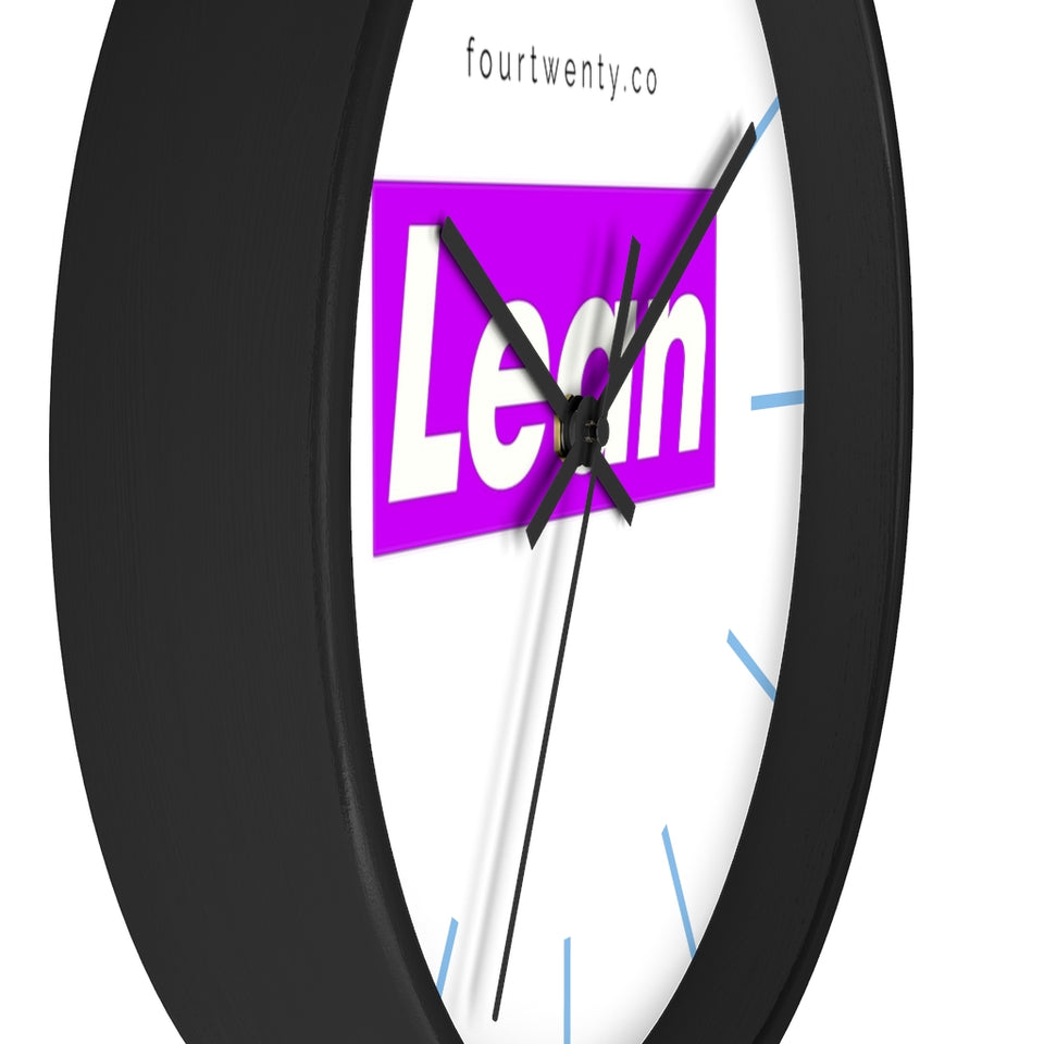 Lean Wall clock