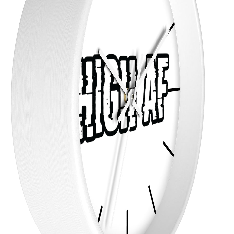 High AF Wall clock