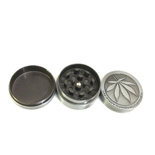 Novelty Metal and Acrylic Herb/Weed Grinder