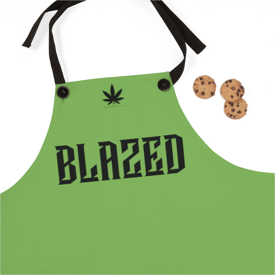Blazed Green Apron