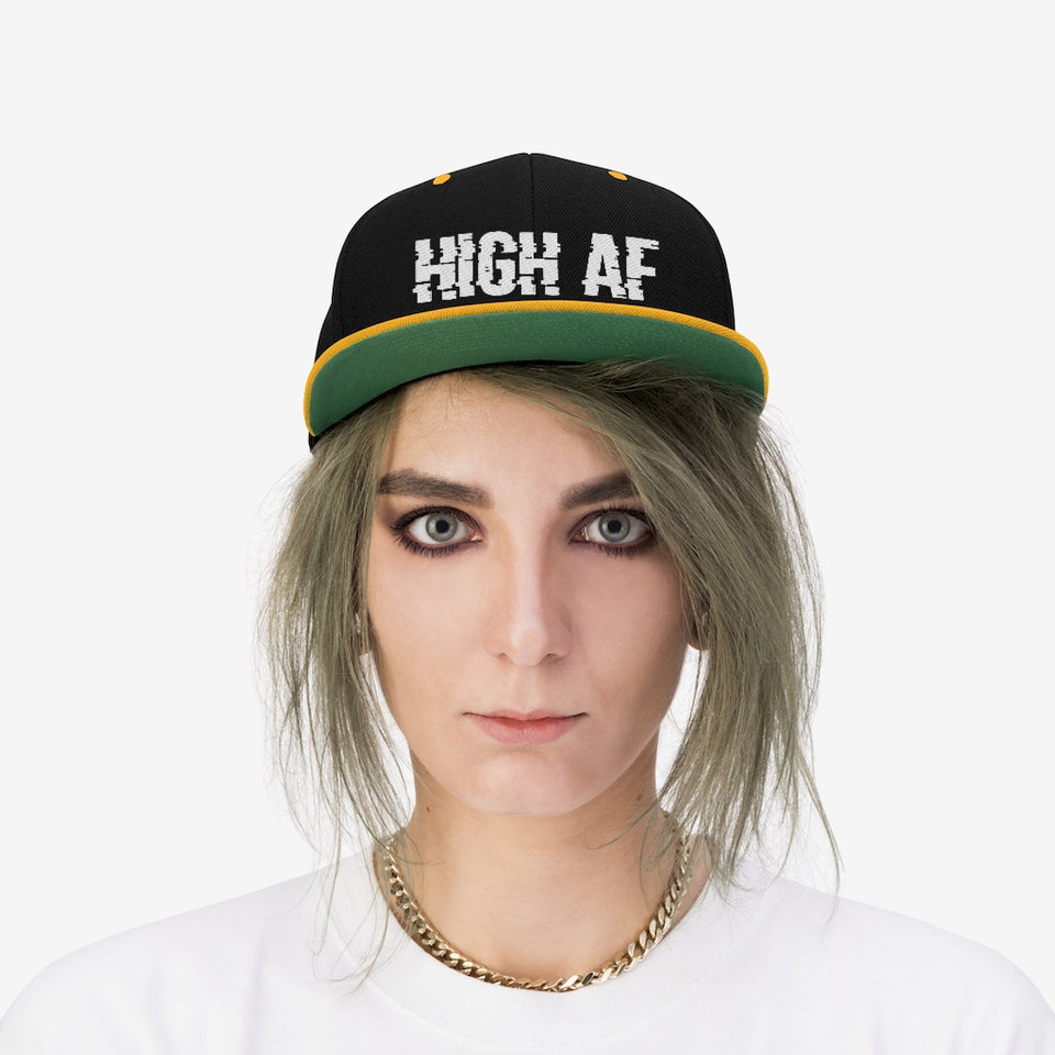 High AF Flat Bill Hat