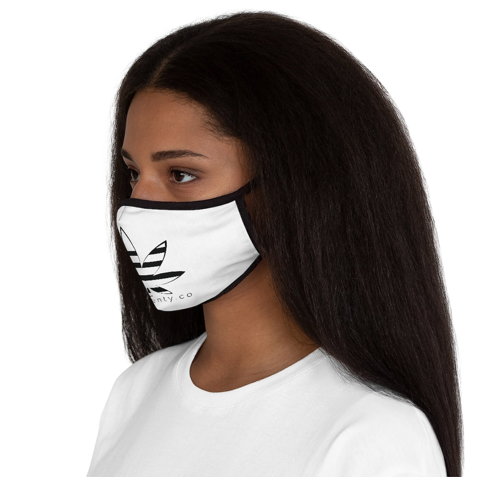 fourtwenty co Fitted Polyester Face Mask