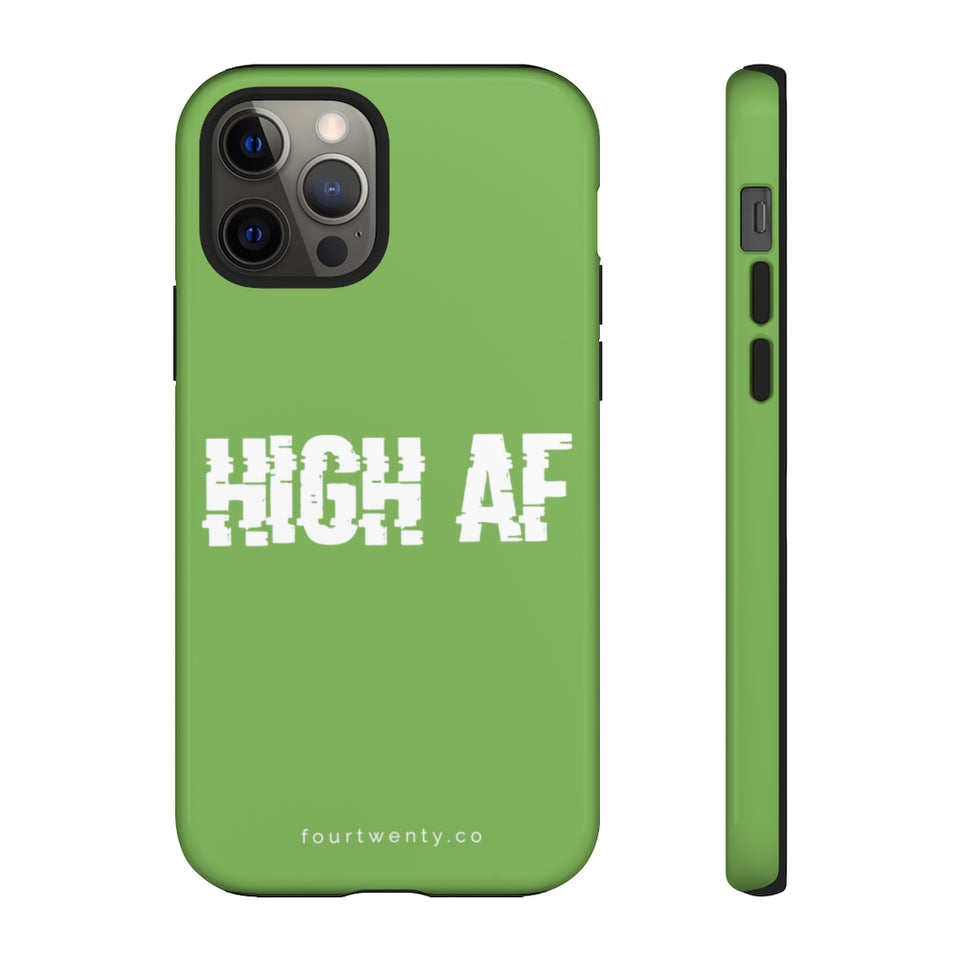 High AF Green Phone Cases