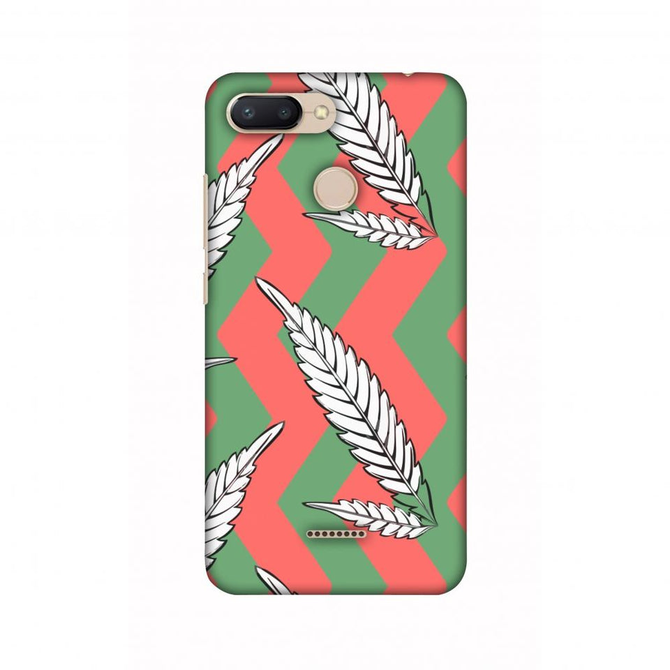 Along The Chevron - Pink And Green Slim Hard Shell