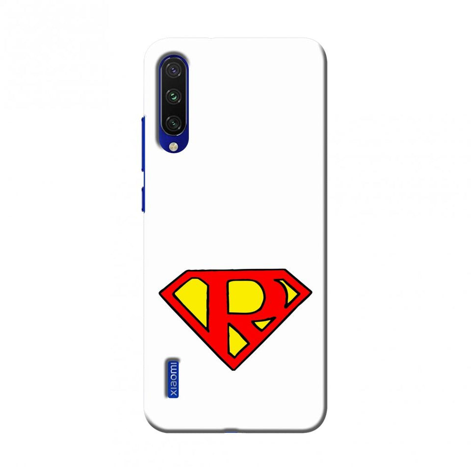 Superhero- R Slim Hard Shell Case For Xiaomi Mi A3