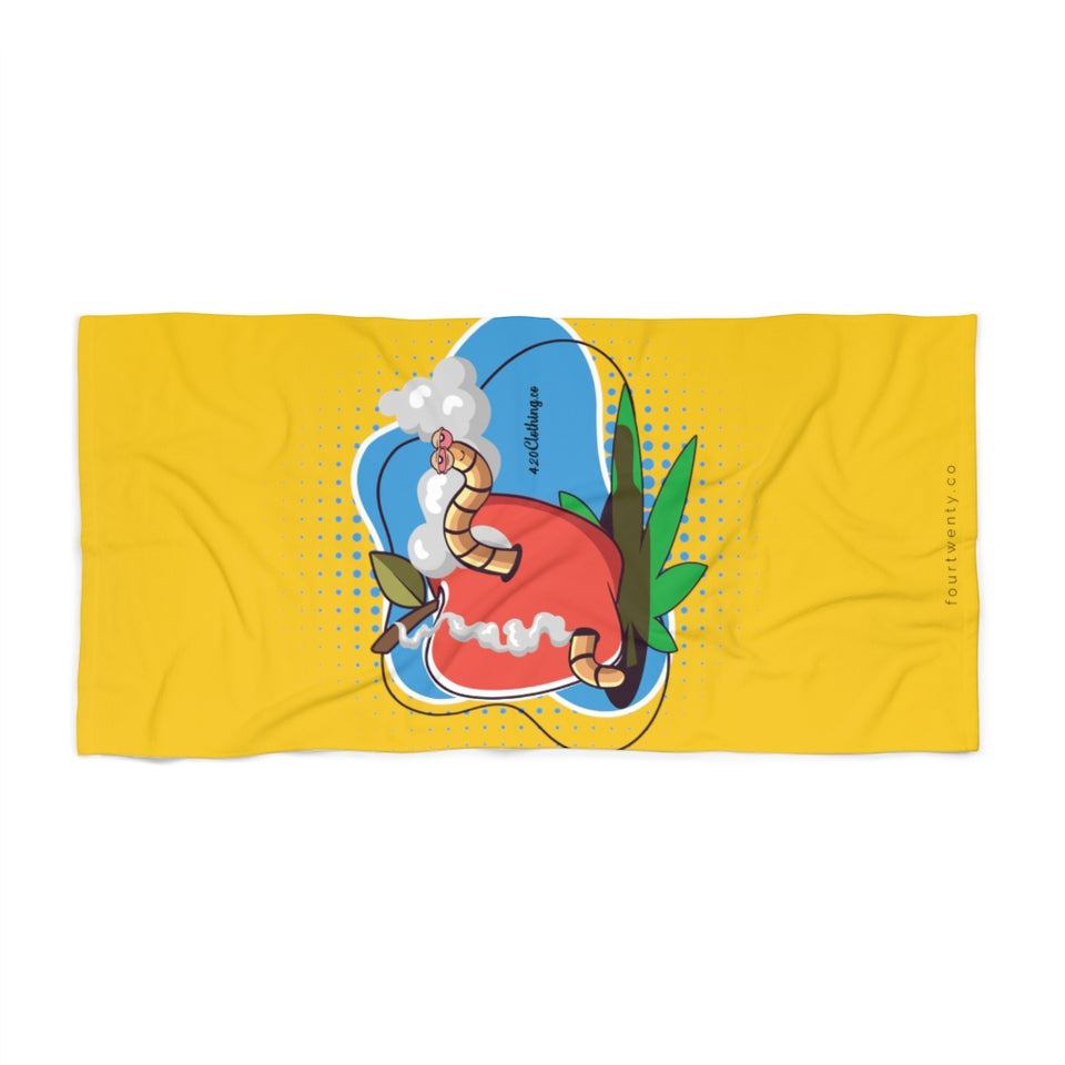 Worm Highh Beach Towel
