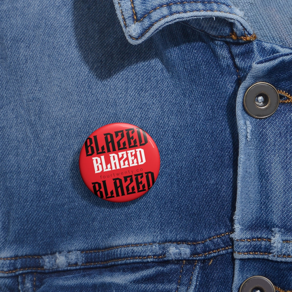 Blazed Pin Buttons