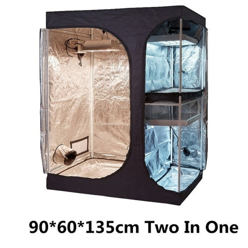 Indoor Garden tent Double layer Two in one grow box