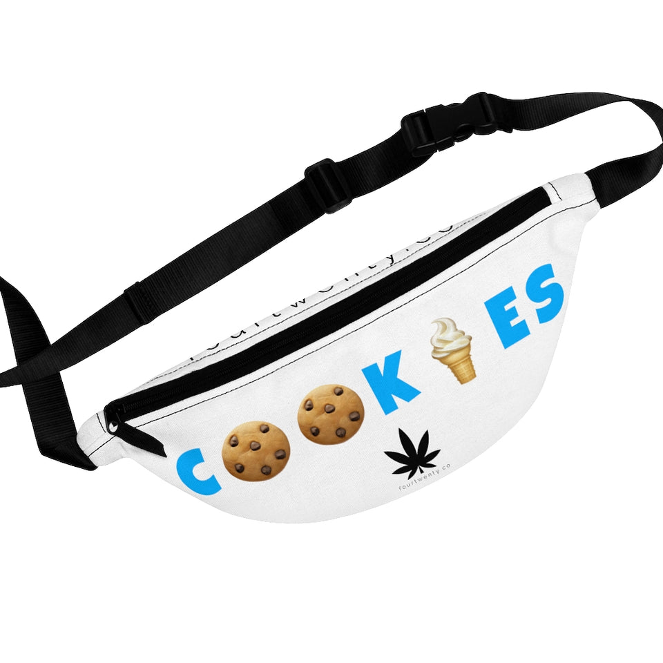 White Cookies Fanny Pack
