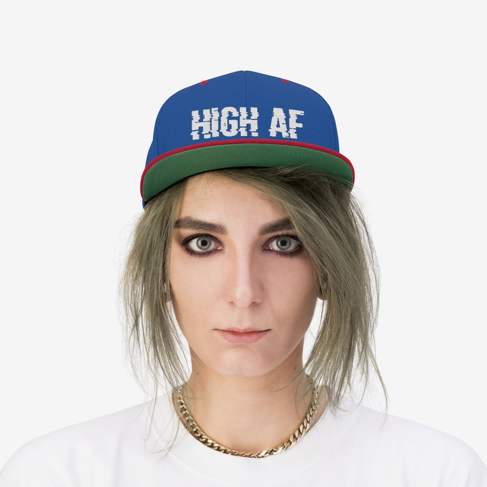 Copy of High AF Flat Bill Hat