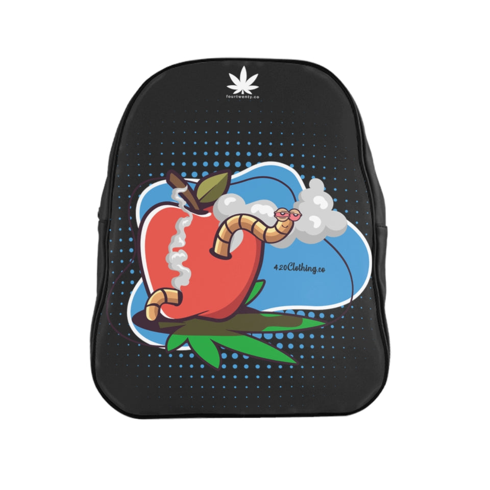 Worm Highh Black Backpack
