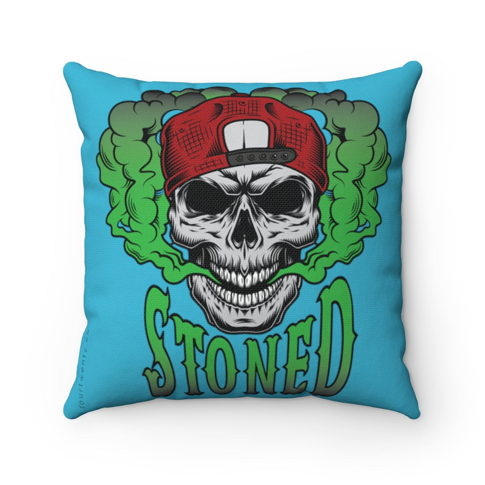 Stone to the Bone Square Pillow Case
