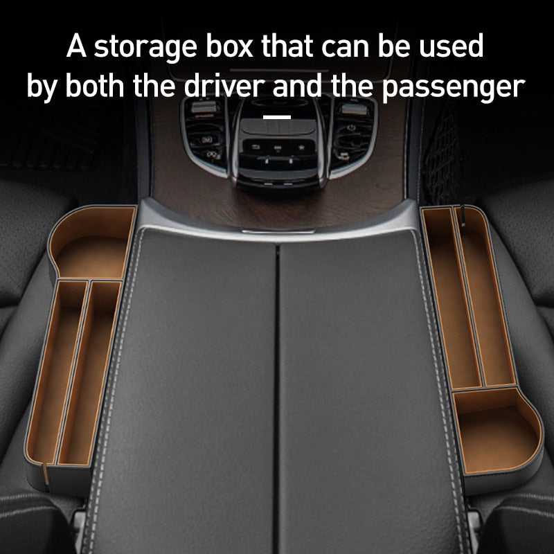 Universal Leather Car Organizer
