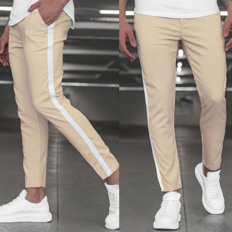 Side stripe Men's Casual Joggers
