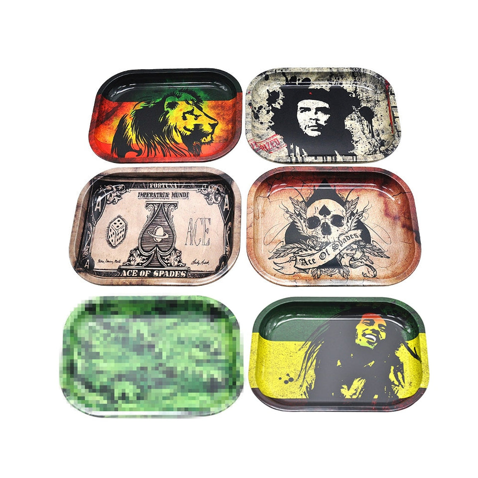 Crafted Rolling Trays