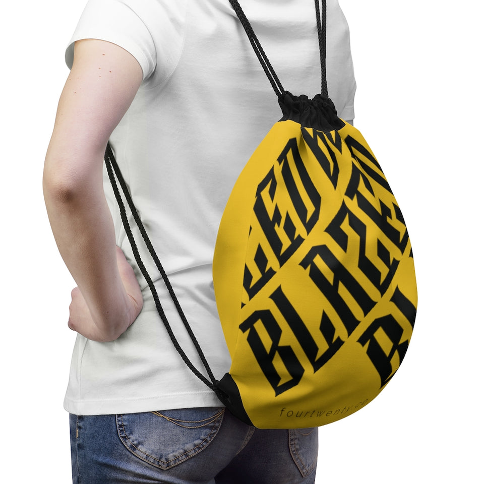 Blazed Drawstring Bag