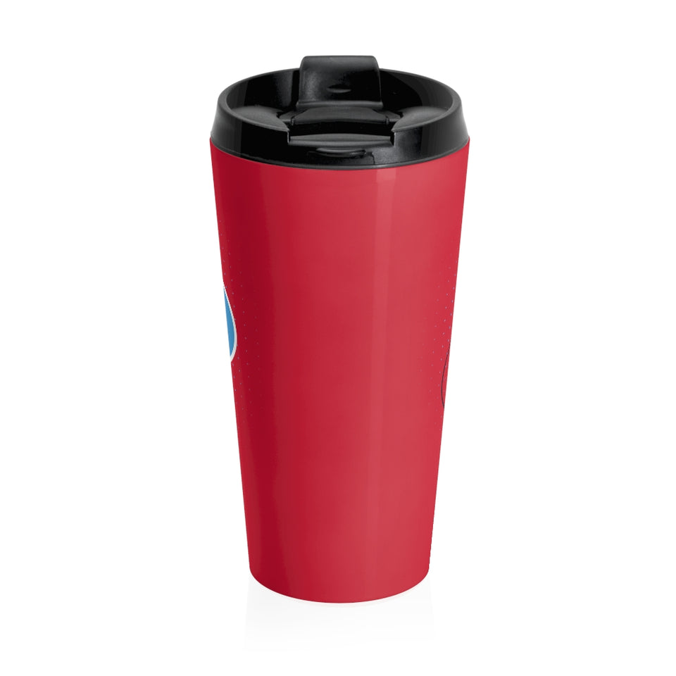 Worm Highh Red Travel Mug