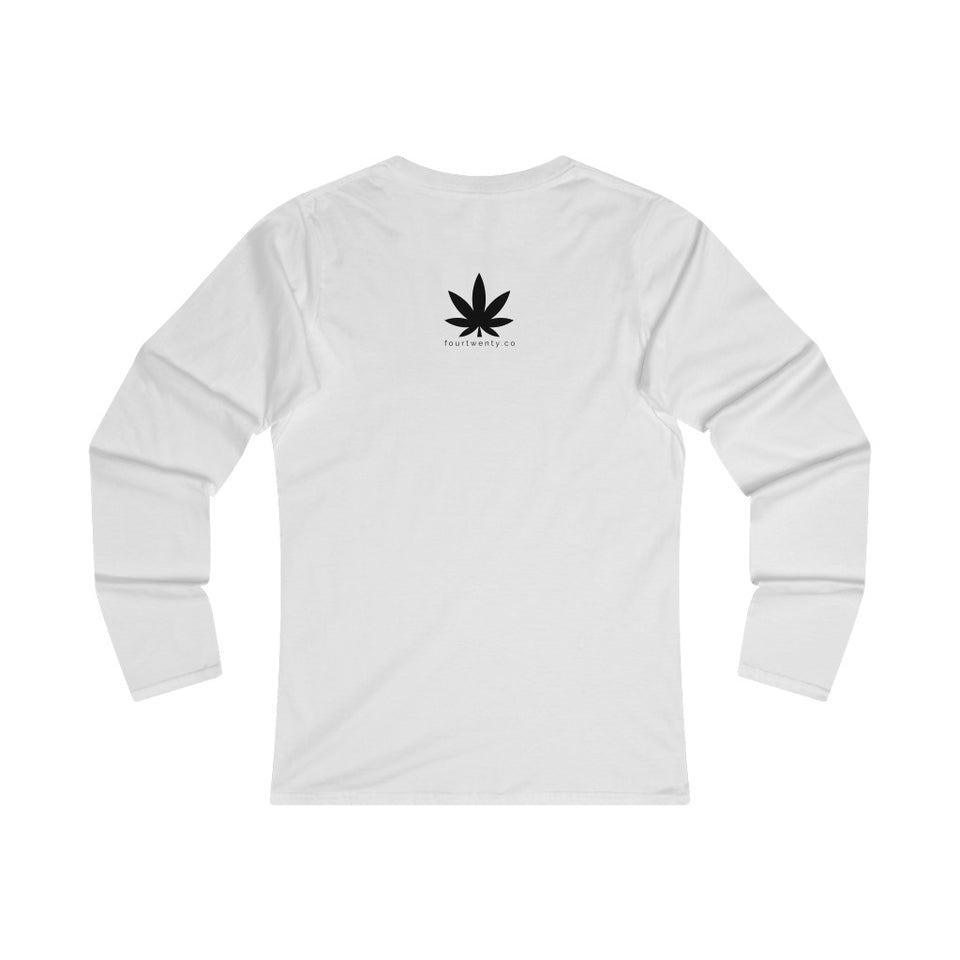 So Highh Ladies Fitted Long Sleeve Tee