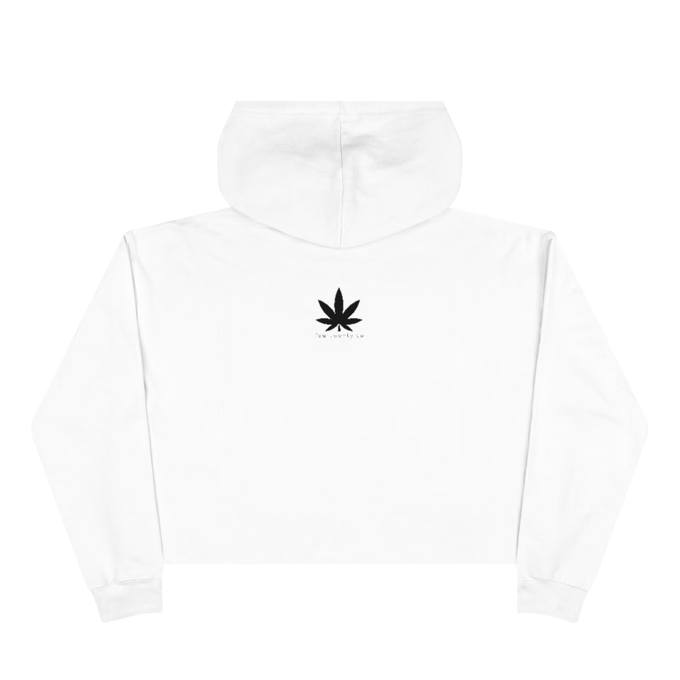 So Highh Ladies Crop Hoodie
