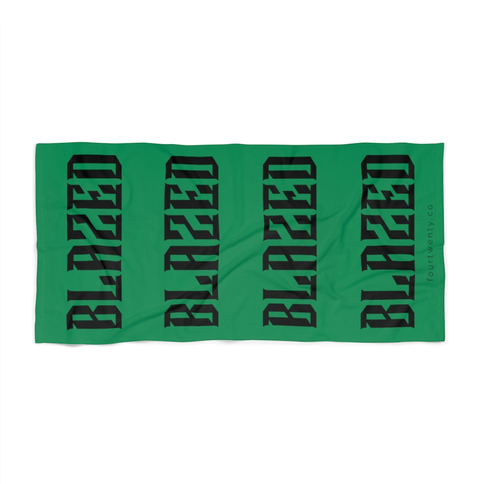 Blazed Beach Towel