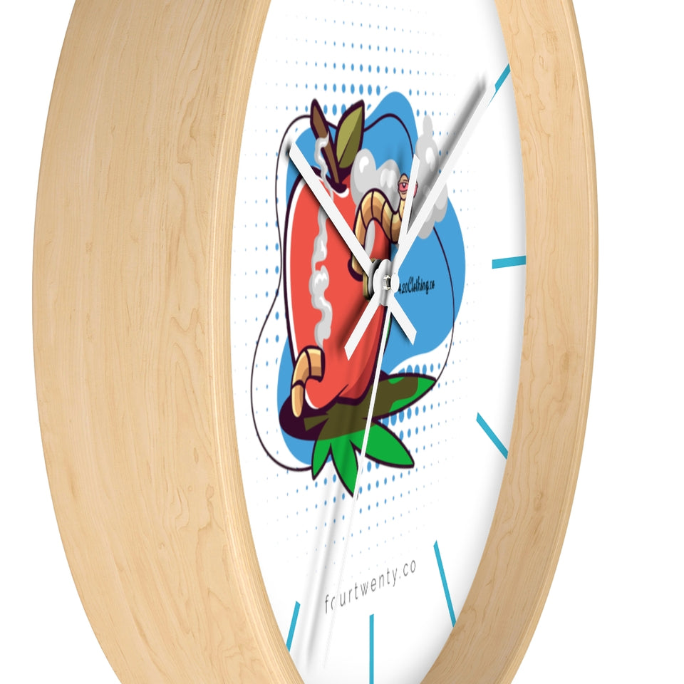 Worm Highh Wall clock