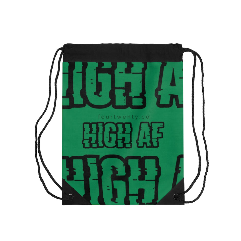 High AF Drawstring Bag